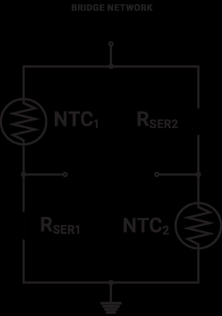 用于控制和补偿电路的温度传感器